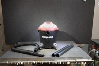 Working Wet/Dry 12-Gallon Shop Vac
