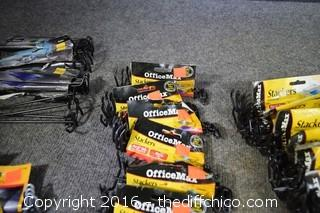 Lot of Office Tray Stackers