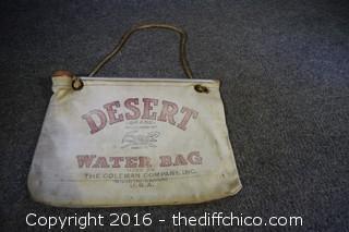 Vintage Desert Water Bag
