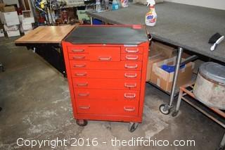 Matco 10 Drawer Tool Box-no keys