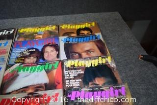 15 Collectible Playgirl Magazines