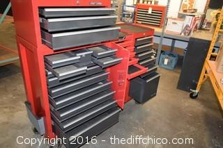 Craftsman 25 Drawer Tool Box-no keys