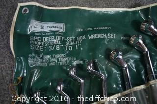Set of Box Wrenches