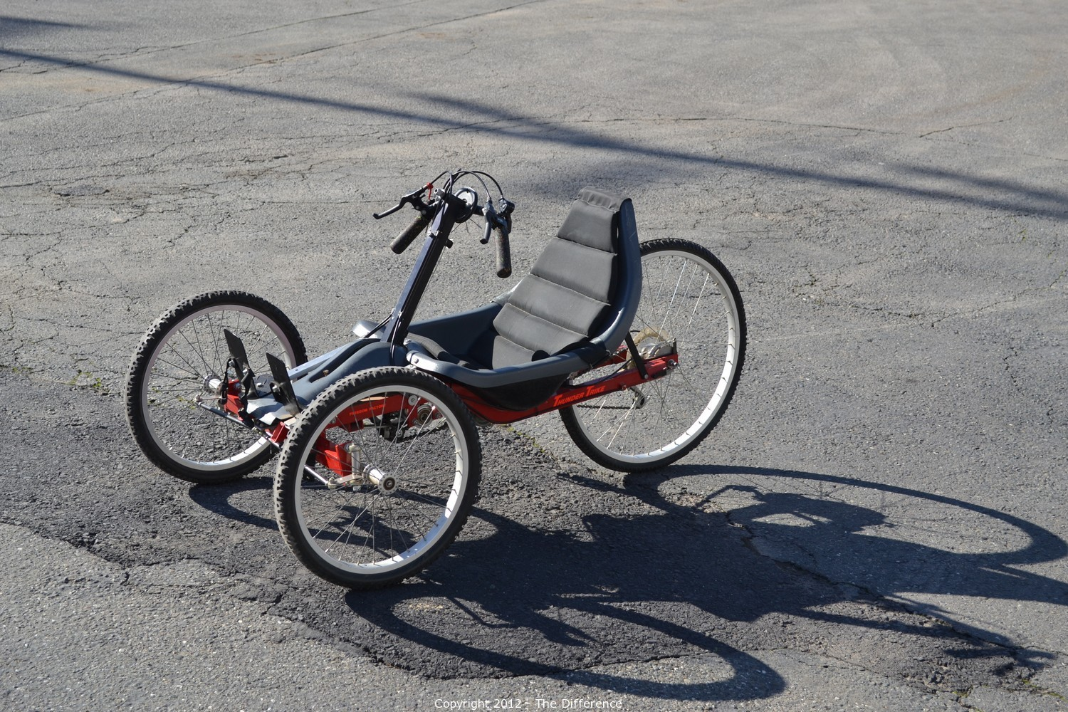 The Difference Auction Thunder Trike 3 Wheel Handicap