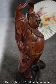 Oriental Lot - Bowls, Trinket Box, Statue & More