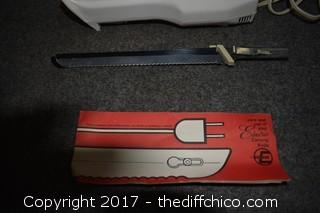 Working Electrix Carving Knife