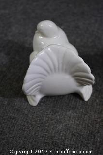 Pair of Ceramic Birds