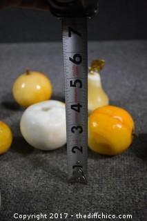 9 Soapstone Fruit