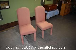 2 Padded Chairs