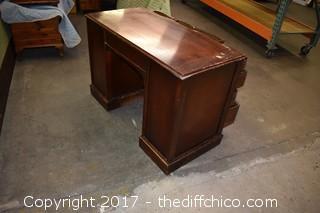 Vintage Mahogany Desk