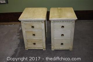 Pair of Northern Furniture Night Stands