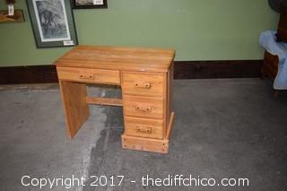 Heavy Oak Desk