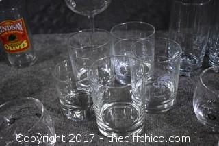 Lot of Mix Glasses