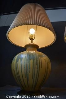 Pair of Working Lamps w/Shades