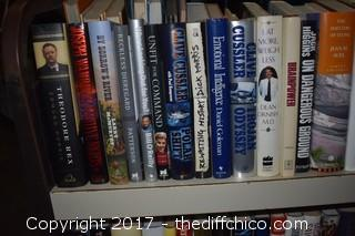 Lot of Books - Cart Not Included
