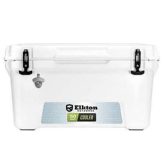 Elkton Outdoors 50 Quart Ice Chest
