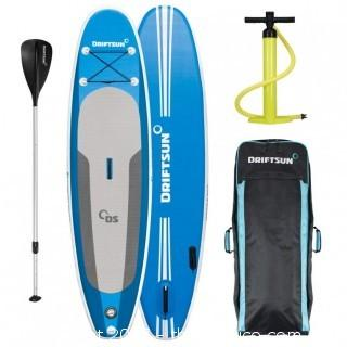 Driftsun Inflatable Explorer SUP 10' Stand Up Paddleboard Package
