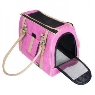 FrontPet Luxury Pink Pet Purse & Handbag