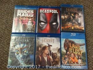 Blu-Ray Lot
