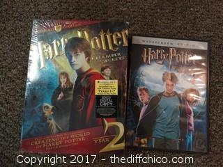 Harry Potter DVD's