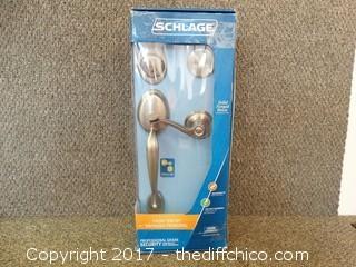 Schilage Front Entry Lock (No Keys)