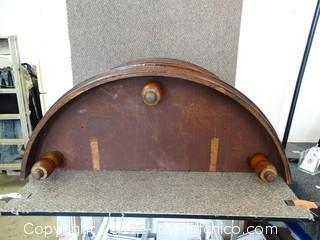 Wood Wall Table