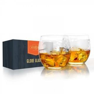 Atterstone Globe Glasses - 12 oz