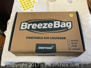 Driftsun Breeze Bag Lounger - Green