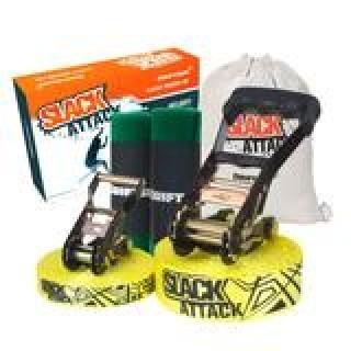 Driftsun 50 Foot Slack Attack Slackline Kit