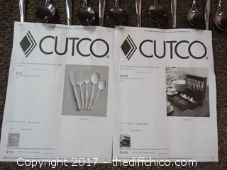Set Of 12 Cutco Large Spoons