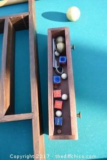 Delmo Billiards Custom Made Pool Table + Accessories