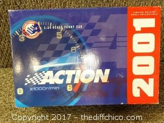 2001 Diecast Under Taker Race Car NIB