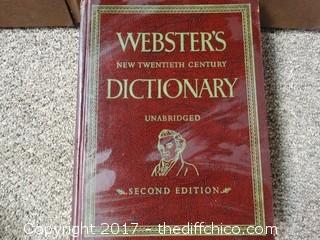 Webster Dictionary's
