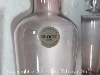 Block China & Crystal 7 Piece