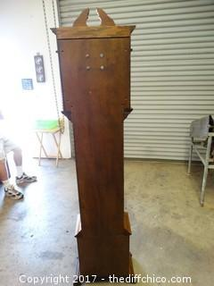 "Grandfather Clock T-6 Foot W-16"" D-9"" (Untested)"