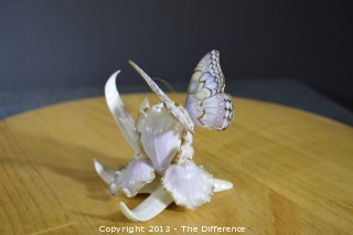 "Lenox ""Whispers of Spring"" Butterfly Figurine"