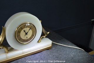 Working Vintage Art Deco Clock