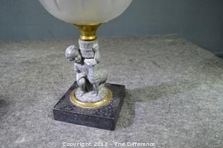 Vintage Oil Lamp