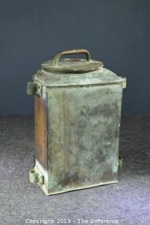 Vintage Perkins Marine Lamp