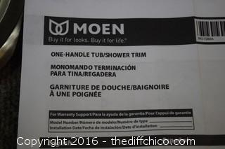 Moen One Handle Tub/Shower Fixture