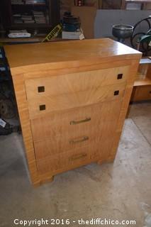 Vintage Starline 5 Drawer Dresser