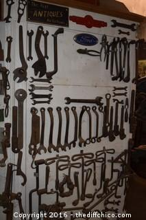 Wall of Tools-Wall only