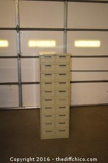 20-Drawer File Cabinet