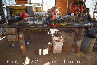 1/2in Steel Plate Welding Table