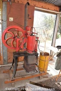 Vintage Rider-Ericsson Hot Air Pumping Engine-Size 6in No 18981