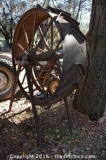 Cast Iron Wheel-Turns