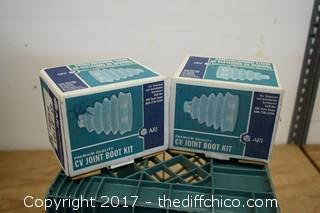 2 CV Joint Boot Kits
