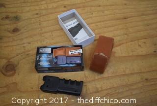 Working Stun Gun / Flashlight
