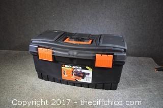 Empty Black & Decker Tool Box
