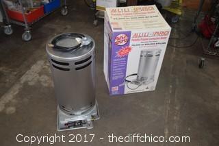 NIB All-Pro Propane Portable Heater